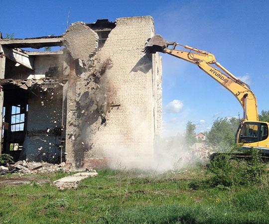 Демонтаж зданий в Казани и Республике Татарстан